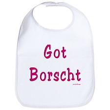 Got Borscht Passover Bib