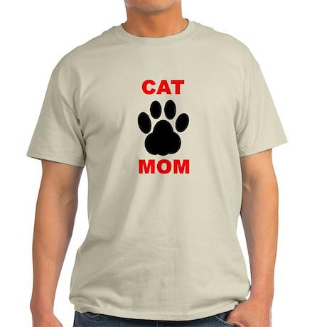 Cat Mom Light T-Shirt