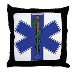 Master Mason EMT Throw Pillow