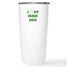 I Love My Irish Mom Travel Mug