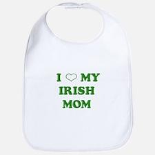I Love My Irish Mom Bib