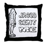 Jacob Sent Me Throw Pillow