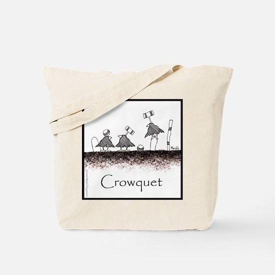 Crowquet Tote Bag
