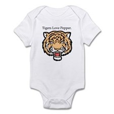 Tigers Love Pepper Infant Bodysuit