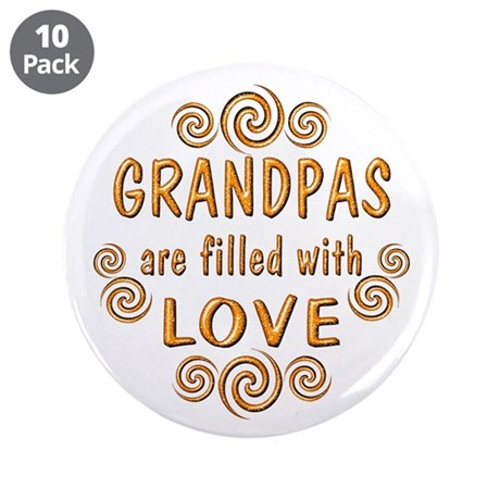 "Grandpa 3.5"" Button (10 pack)"