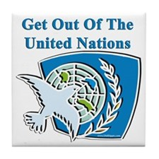United Nations Tile Coaster
