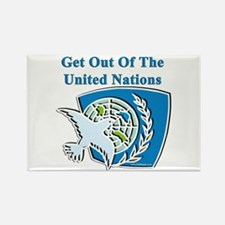 United Nations Rectangle Magnet (100 pack)