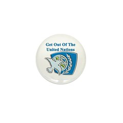 United Nations Mini Button (10 pack)