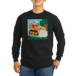 Bulldozer Long Sleeve Dark T-Shirt