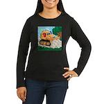 Bulldozer Women's Long Sleeve Dark T-Shirt