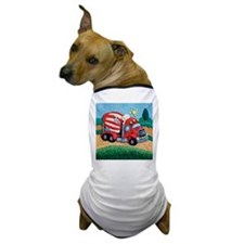 Cement Mixer Dog T-Shirt
