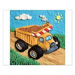 Dump Truck Small Poster