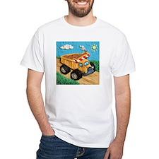 Dump Truck White T-Shirt