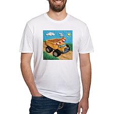 Dump Truck Fitted T-Shirt