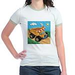 Dump Truck Jr. Ringer T-Shirt