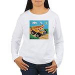 Dump Truck Women's Long Sleeve T-Shirt