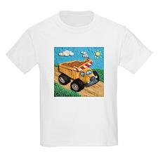 Dump Truck Kids Light T-Shirt