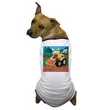 Front End Loader Dog T-Shirt