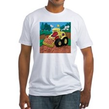 Front End Loader Fitted T-Shirt