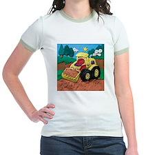 Front End Loader Jr. Ringer T-Shirt