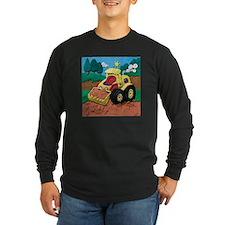 Front End Loader Long Sleeve Dark T-Shirt