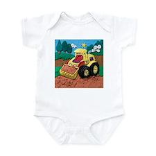 Front End Loader Infant Bodysuit