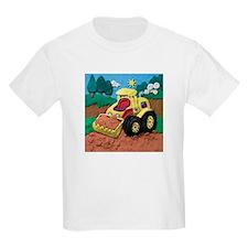Front End Loader Kids Light T-Shirt