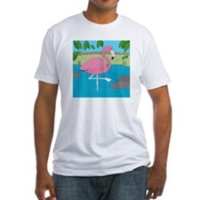 Flamingo Fitted T-Shirt