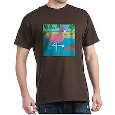 Flamingo Dark T-Shirt