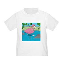 Flamingo Toddler T-Shirt