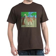 Giraffe Dark T-Shirt