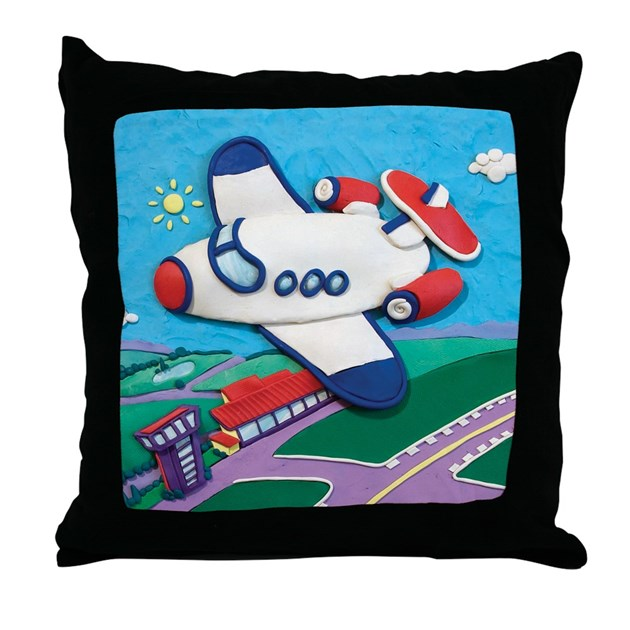 Decorative Airplane Pillow : Airplane Throw Pillow by Smithsonian