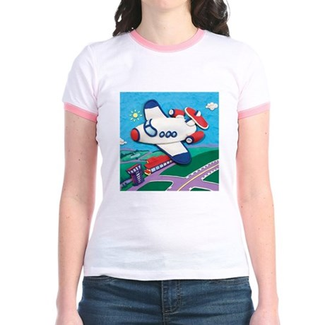 Airplane Jr. Ringer T-Shirt
