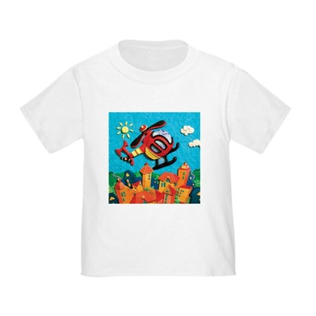 Helicopter Toddler T-Shirt