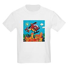 Helicopter Kids Light T-Shirt
