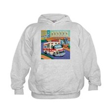 Ambulance Kids Hoodie