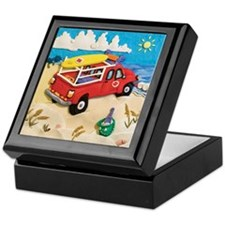 Beach Patrol Rescue Keepsake Box