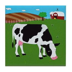 Cow Tile Coaster