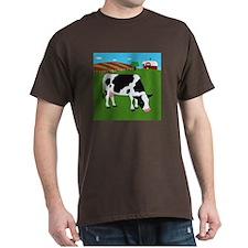 Cow Dark T-Shirt
