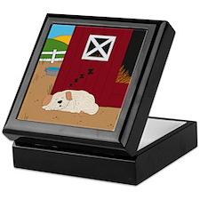 Farm Dog Keepsake Box