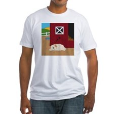 Farm Dog Fitted T-Shirt
