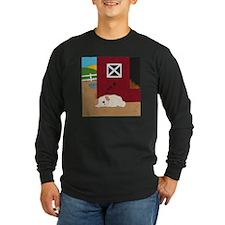 Farm Dog Long Sleeve Dark T-Shirt