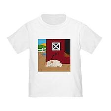 Farm Dog Toddler T-Shirt