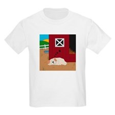Farm Dog Kids Light T-Shirt