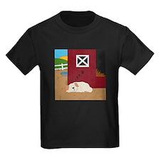 Farm Dog Kids Dark T-Shirt