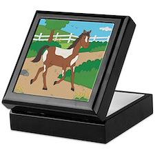 Farm Horse Keepsake Box