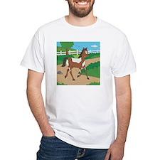 Farm Horse White T-Shirt