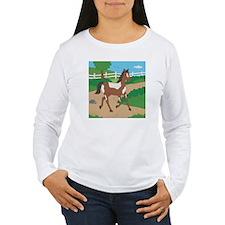 Farm Horse Women's Long Sleeve T-Shirt