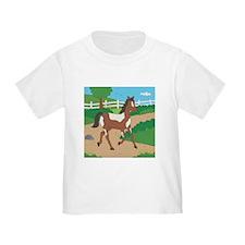 Farm Horse Toddler T-Shirt