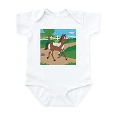 Farm Horse Infant Bodysuit